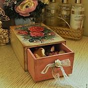 """Для дома и интерьера ручной работы. Ярмарка Мастеров - ручная работа Короб для мелочей """"Roses"""". Handmade."""