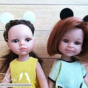 Куклы и игрушки handmade. Livemaster - original item Mickey mouse Ears headband for Paola Reina dolls. Handmade.