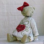 Куклы и игрушки ручной работы. Ярмарка Мастеров - ручная работа Илга, красный бантик. Handmade.