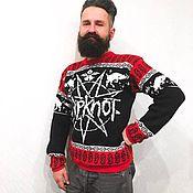 """Одежда ручной работы. Ярмарка Мастеров - ручная работа Свитер """"Slipknot"""". Handmade."""