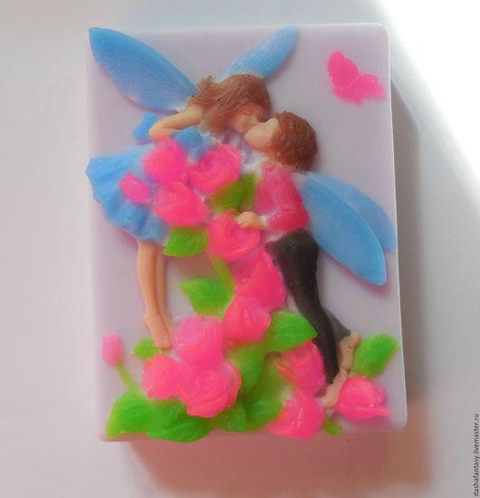 Мыло `Влюбленная фея` , хорошее дополнение к подарку на свадьбу.