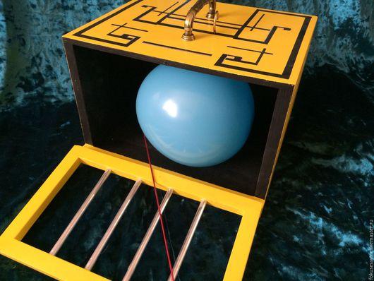 Настольные игры ручной работы. Ярмарка Мастеров - ручная работа. Купить Фокус. Коробка для появления кролика. Handmade. Фокус, реквизит