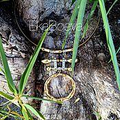 """Украшения ручной работы. Ярмарка Мастеров - ручная работа Колье """"Bamboo"""". Handmade."""