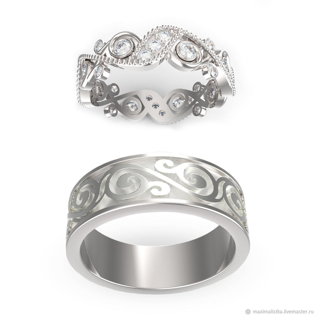 Wedding Jewelry Handmade Livemaster Ring Symbol Of Love