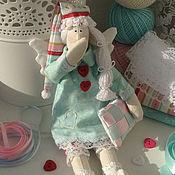 Куклы и игрушки ручной работы. Ярмарка Мастеров - ручная работа Сонный ангел Феодорус (Тильда Сплюшка). Handmade.