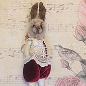 Куклы и игрушки ручной работы. Ярмарка Мастеров - ручная работа Puppe Hase-4. Handmade.