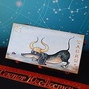 handmade. Livemaster - original item the zodiac sign Taurus. box.. Handmade.