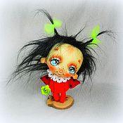 Куклы и игрушки ручной работы. Ярмарка Мастеров - ручная работа Малявка Жукова и дуновение весны.... Handmade.