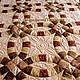 Текстиль, ковры ручной работы. Заказать Золотые свадебные кольца. Лоскутное покрывало. Пэчворк Маргариты Гордеевой (krasota). Ярмарка Мастеров.