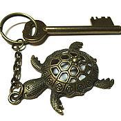 Аксессуары handmade. Livemaster - original item Key chain Turtle, key chain for bag. Handmade.