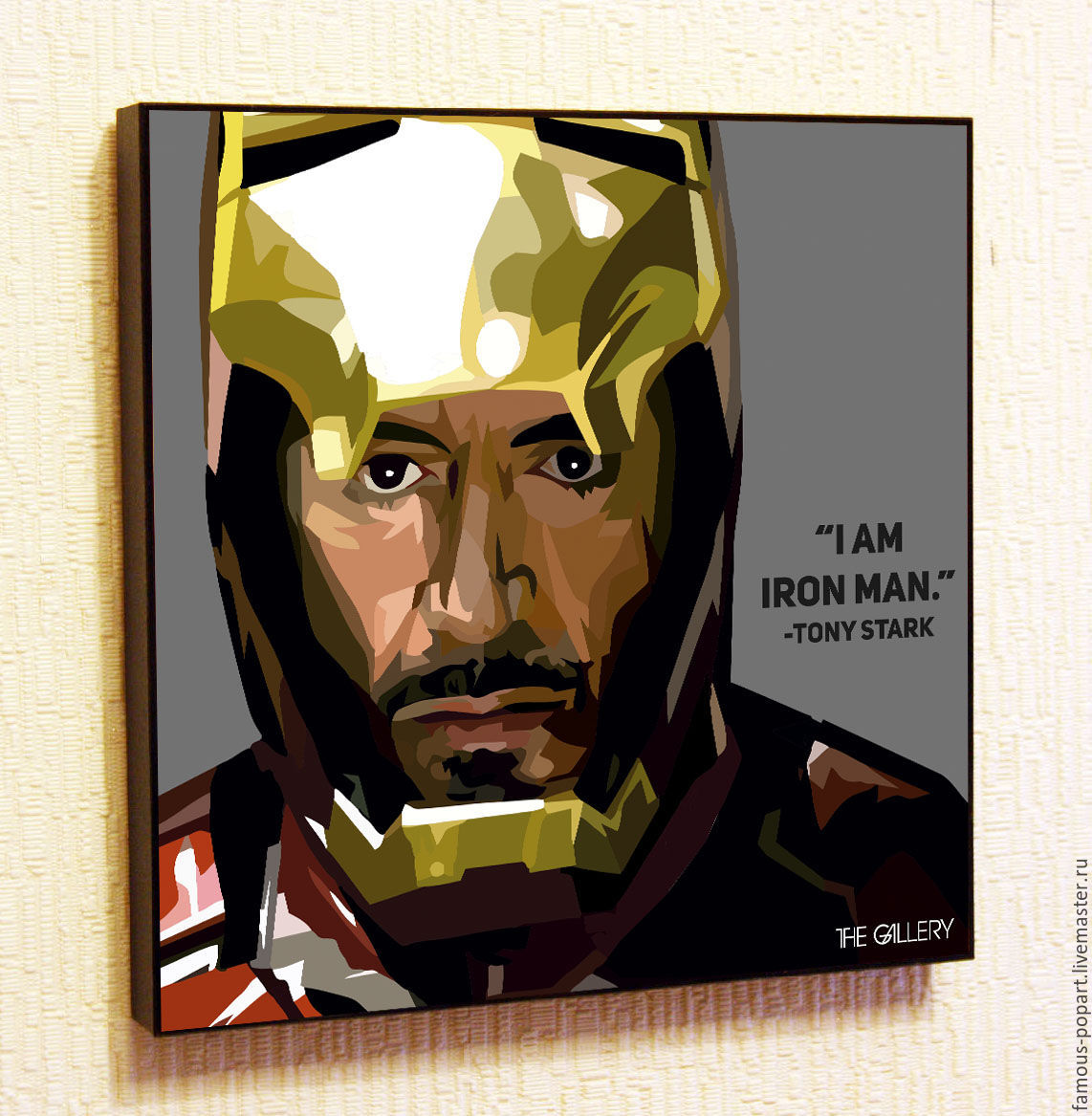 Painting Pop Art Iron man Marvel Ironman, Pictures, Moscow,  Фото №1