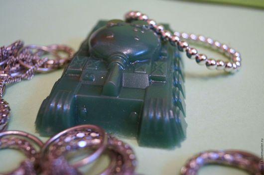 Мыло ручной работы. Ярмарка Мастеров - ручная работа. Купить Мыло Танк (подарок на 23 февраля). Handmade. Тёмно-зелёный