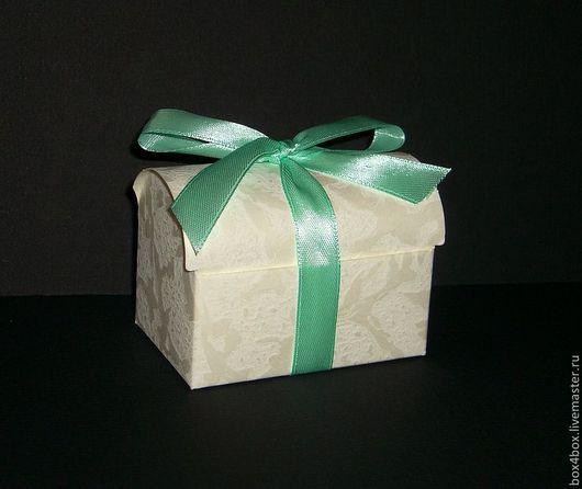 Упаковка ручной работы. Ярмарка Мастеров - ручная работа. Купить Бонбоньерки для свадьбы. Handmade. Белый, упаковка подарочная, бонбоньерки, сундучок