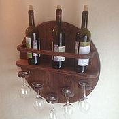 Для дома и интерьера handmade. Livemaster - original item Wine shelf