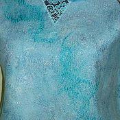 """Одежда ручной работы. Ярмарка Мастеров - ручная работа Блуза нуно-войлок """" Нежность"""". Handmade."""