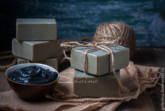 """Мыло ручной работы. Ярмарка Мастеров - ручная работа. Купить Мыло натуральное для проблемной кожи """"САКСКАЯ ГРЯЗЬ"""" (70% оливы). Handmade."""