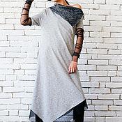 """Одежда ручной работы. Ярмарка Мастеров - ручная работа Платье ассиметричное """"Меsh chic"""". Handmade."""