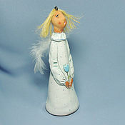 """Сувениры и подарки ручной работы. Ярмарка Мастеров - ручная работа """"Нежный ангел"""", колокольчик. Handmade."""