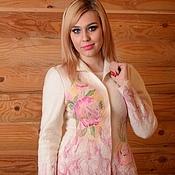 """Одежда ручной работы. Ярмарка Мастеров - ручная работа Жакет """"Розовый сад"""". Handmade."""