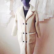 Одежда ручной работы. Ярмарка Мастеров - ручная работа Шубка из овчины модель кокон на заказ. Handmade.