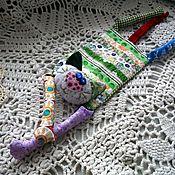 Куклы и игрушки ручной работы. Ярмарка Мастеров - ручная работа Котя. Лоскутная развивающая игрушка (грелка). Handmade.