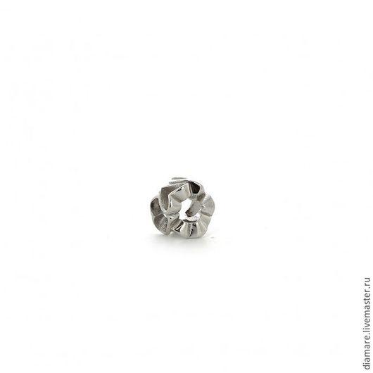 Серебряный шарм `Изысканное сердце`.Арт. 05-0240
