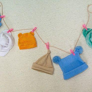 Одежда ручной работы. Ярмарка Мастеров - ручная работа Шапочки для самых маленьких. Handmade.