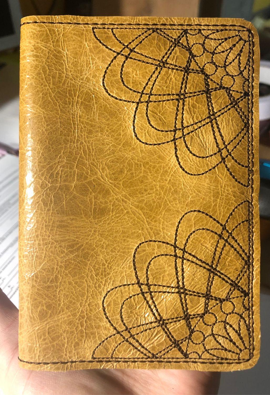 Обложка для паспорта из натуральной кожи, Обложки, Одинцово,  Фото №1