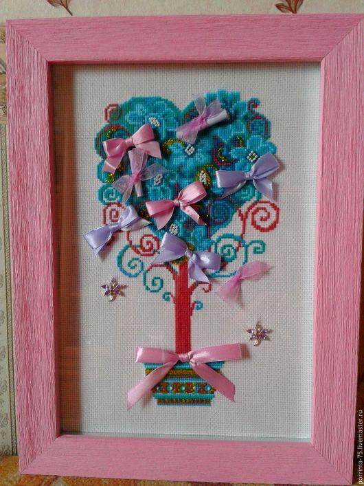 Символизм ручной работы. Ярмарка Мастеров - ручная работа. Купить Дерево желаний. Handmade. Комбинированный, подарок на день рождения