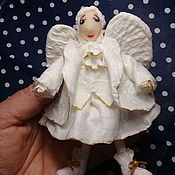 Елочные игрушки ручной работы. Ярмарка Мастеров - ручная работа Елочные игрушки: Ангел. Handmade.