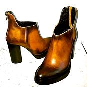 Обувь ручной работы. Ярмарка Мастеров - ручная работа Роскошные сапожки. Handmade.