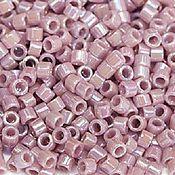 Материалы для творчества handmade. Livemaster - original item 5 grams Delica 11/0 lilac DB158 raduz repros of Japanese seed beads Miyuki. Handmade.