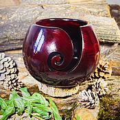 Материалы для творчества handmade. Livemaster - original item Lubochnia wooden Siberian Cedar for yarn knitting #KL3. Handmade.
