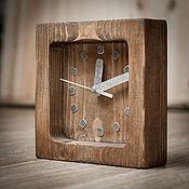 Для дома и интерьера ручной работы. Ярмарка Мастеров - ручная работа Часы настенные деревянные. Handmade.