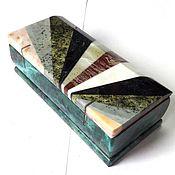 Для дома и интерьера ручной работы. Ярмарка Мастеров - ручная работа Ларчик уральские самоцветы 2. Handmade.