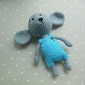 Куклы и игрушки ручной работы. Ярмарка Мастеров - ручная работа Мышонок, мышонок крючком, вязаная игрушка. Handmade.