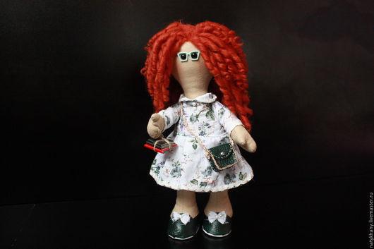 Куклы Тильды ручной работы. Ярмарка Мастеров - ручная работа. Купить Лиза. Handmade. Журналист, подарок, хороший подарок