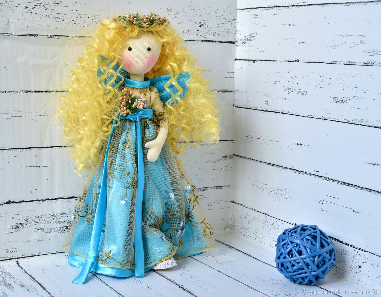 Текстильная кукла Рени, Куклы и пупсы, Москва,  Фото №1
