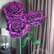 Подарки к праздникам ручной работы. Ярмарка Мастеров - ручная работа Розы на ножке от 1 м. Handmade.