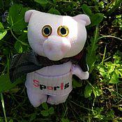 Куклы и игрушки ручной работы. Ярмарка Мастеров - ручная работа Фитнес Поросёнок. Handmade.