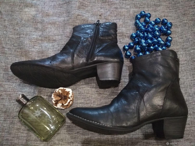 b85fa906b Винтажная обувь. Ярмарка Мастеров - ручная работа. Купить Винтаж: Ботинки  Итальянские женские из ...
