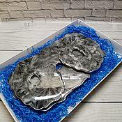 Элементы интерьера ручной работы. Ярмарка Мастеров - ручная работа Набор посуды из эпоксидной смолы MEN. Handmade.