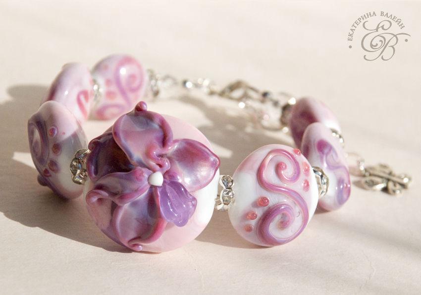 bracelet 'exotic', Bead bracelet, St. Petersburg,  Фото №1