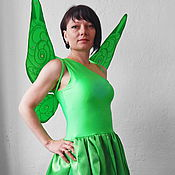 Одежда handmade. Livemaster - original item Fairy Tinker Bell. Animator-actor suit. Handmade.
