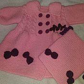 Одежда ручной работы. Ярмарка Мастеров - ручная работа Пальто для девочки. Handmade.