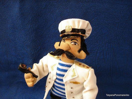 Коллекционные куклы ручной работы. Ярмарка Мастеров - ручная работа. Купить Адмирал - интерьерная кукла. Handmade. Кукла интерьерная, моряк