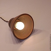 Для дома и интерьера ручной работы. Ярмарка Мастеров - ручная работа Подвесной керамический светильник  «Колокольчик». Handmade.