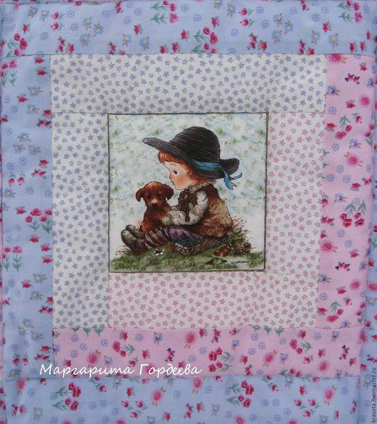 Пледы и одеяла ручной работы. Ярмарка Мастеров - ручная работа. Купить Детское лоскутное одеяло Sweet Dreams. Handmade. Розовый