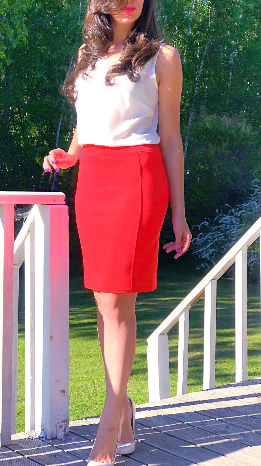 672-knitted pencil Skirt, Skirts, Moscow,  Фото №1