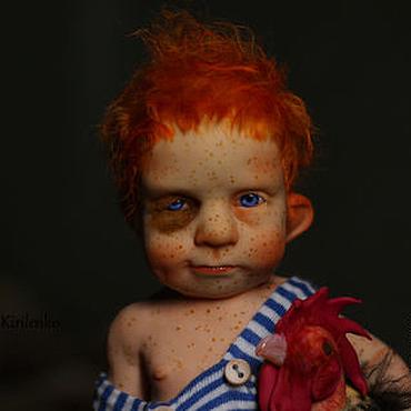 """Куклы и игрушки ручной работы. Ярмарка Мастеров - ручная работа """"Одинокий пастух"""". Handmade."""